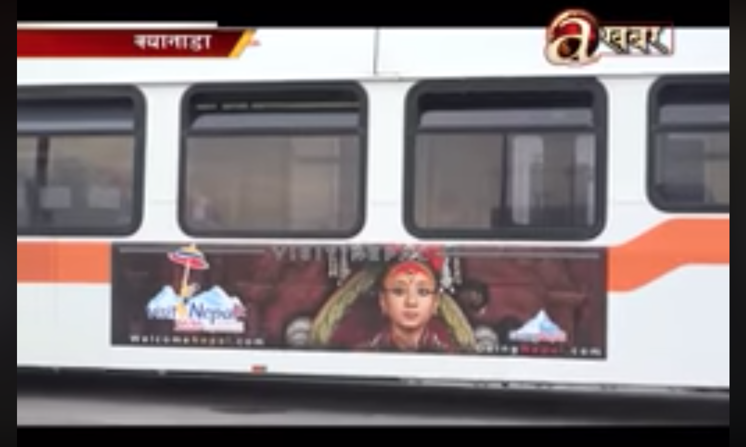City Buses In Canada Promoting Visit Nepal-2020